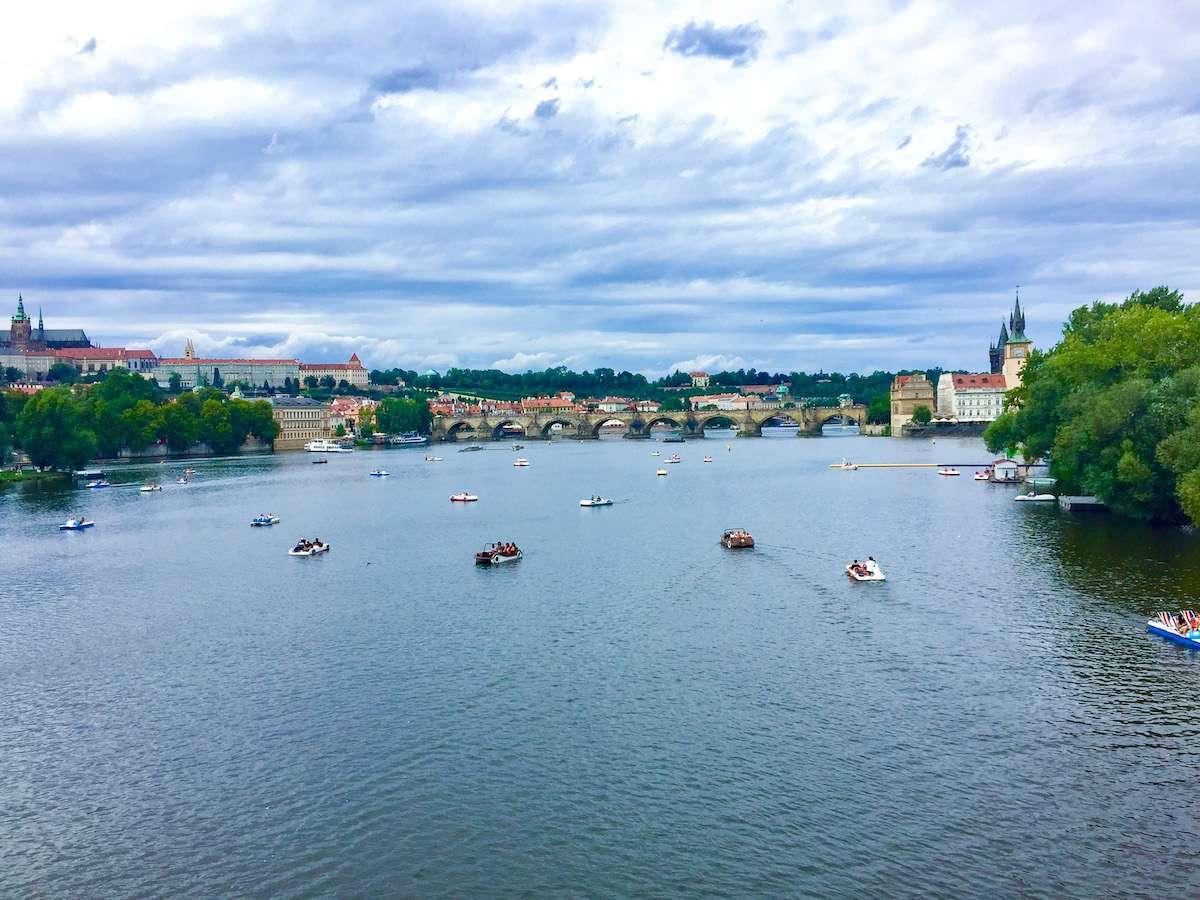 De Moldau rivier