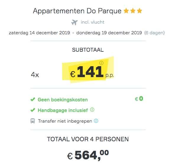 6 dagen Algarve €141