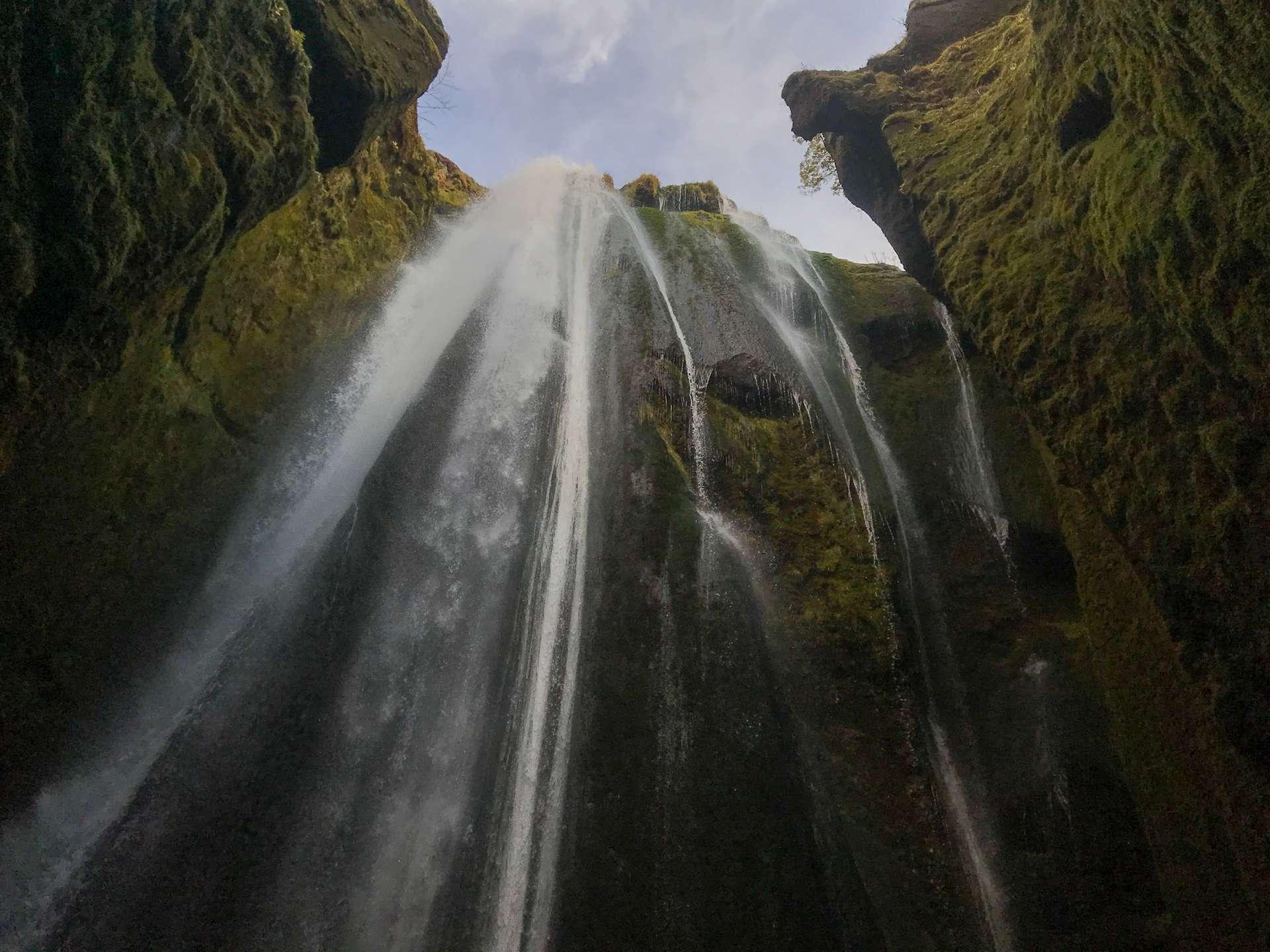 Gljúfurárfoss waterval IJsland