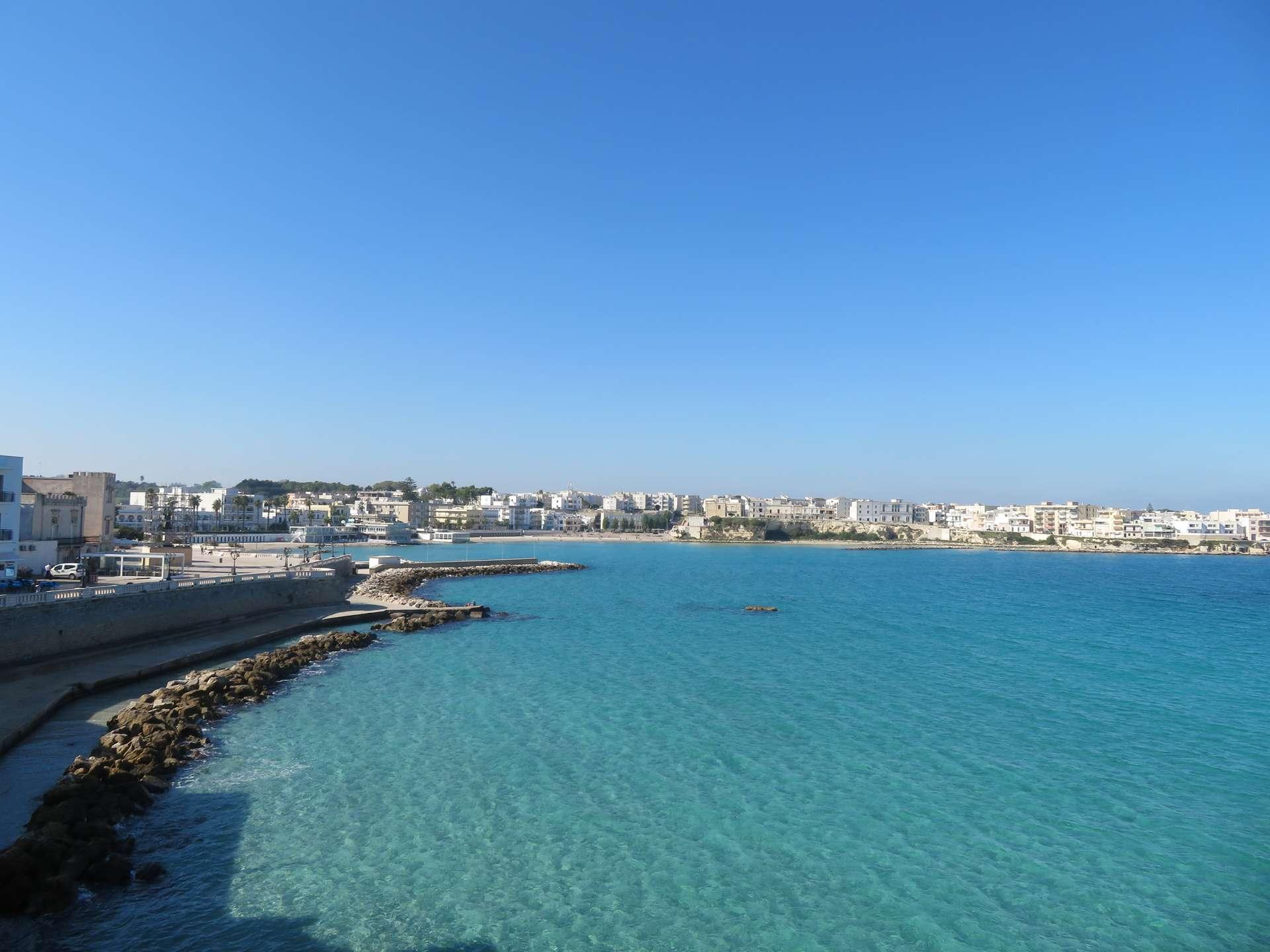 Stranden Otranto Italie