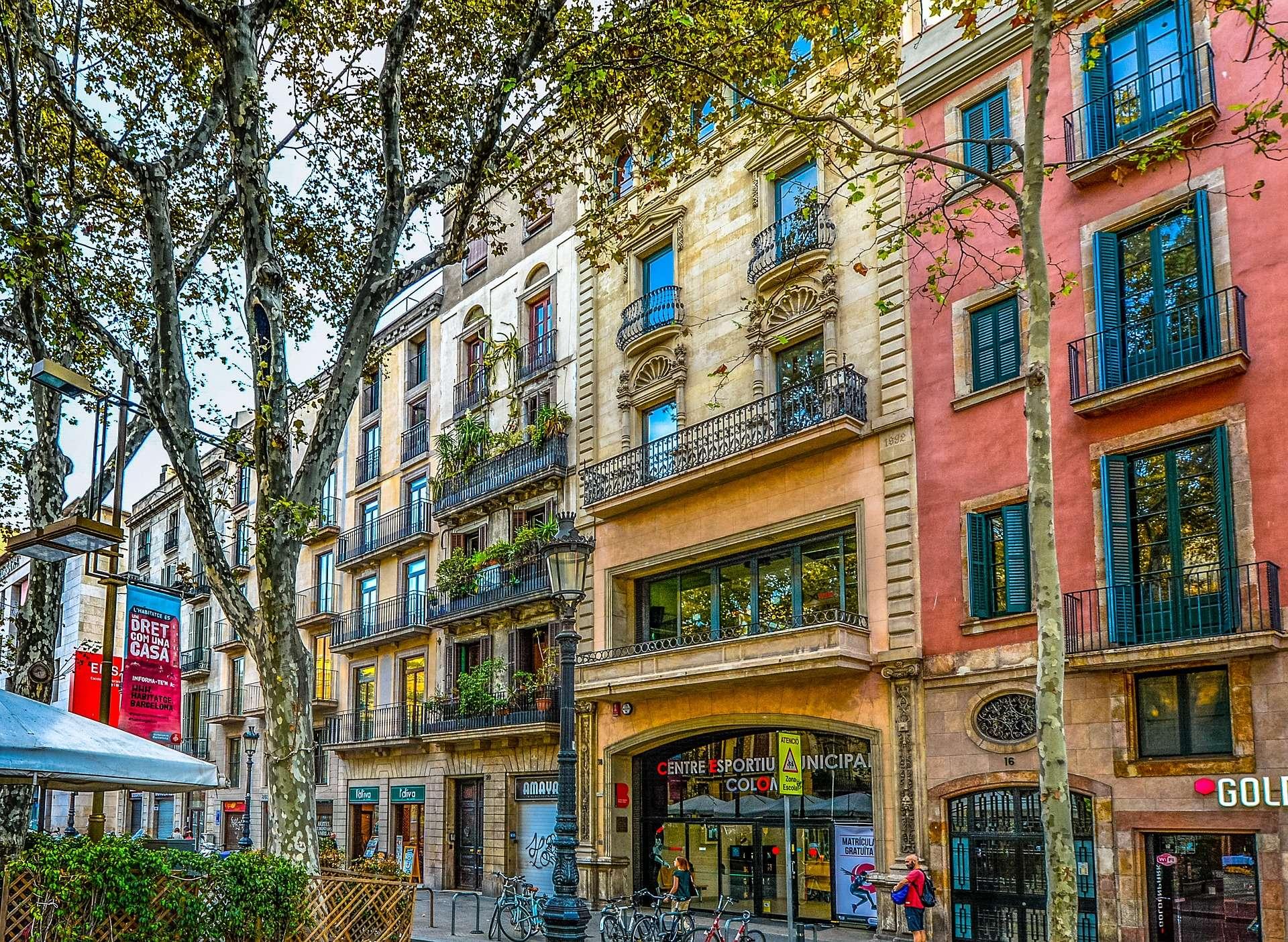 Spanje, Barcelona, La Ramba