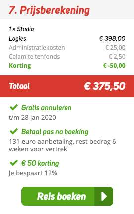 7 dagen Corfu = €175