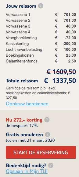 7 dagen Ibiza €640