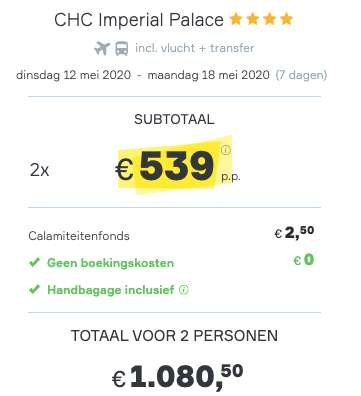 7 dagen Kreta €539