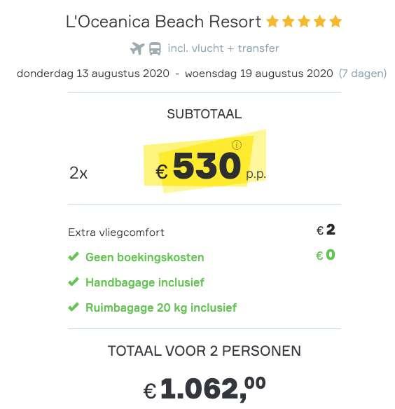 7 dagen Turkije voor €530