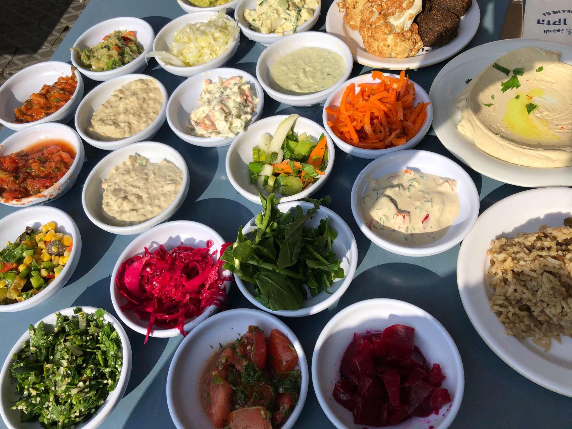 Israël, Tel Aviv, eten