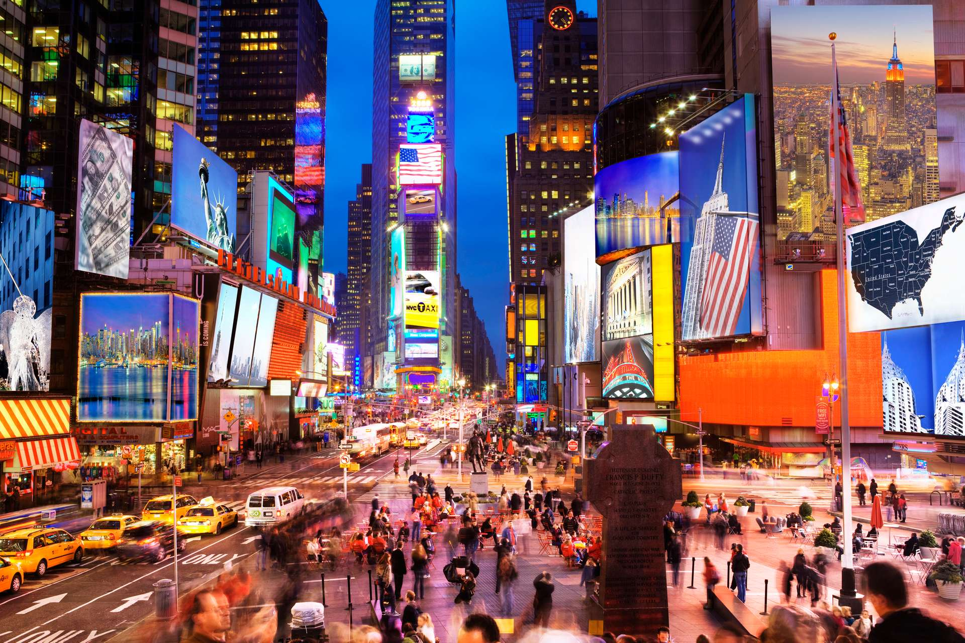 New York broadway times square