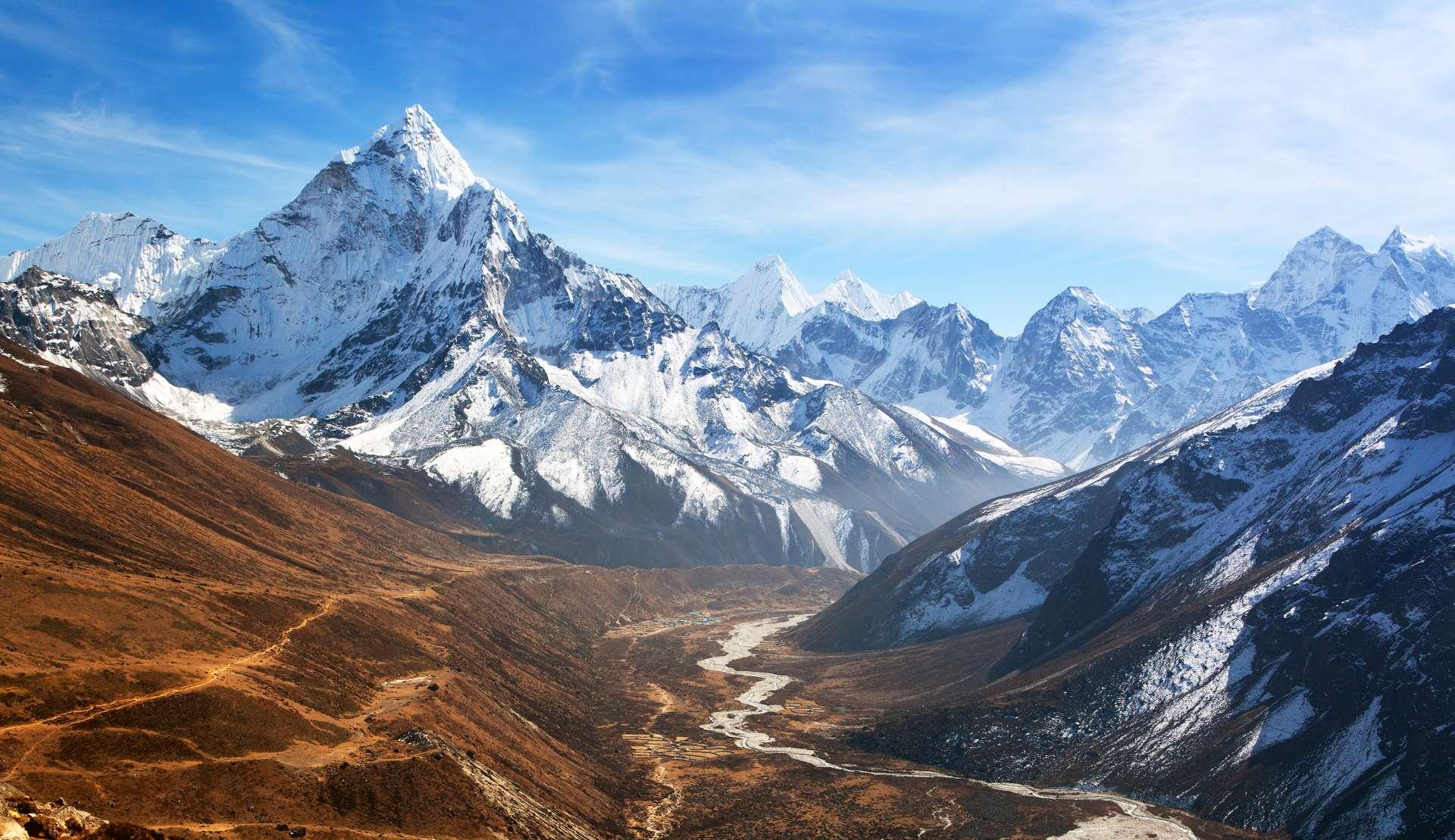 nepal Ama Dablam bergen
