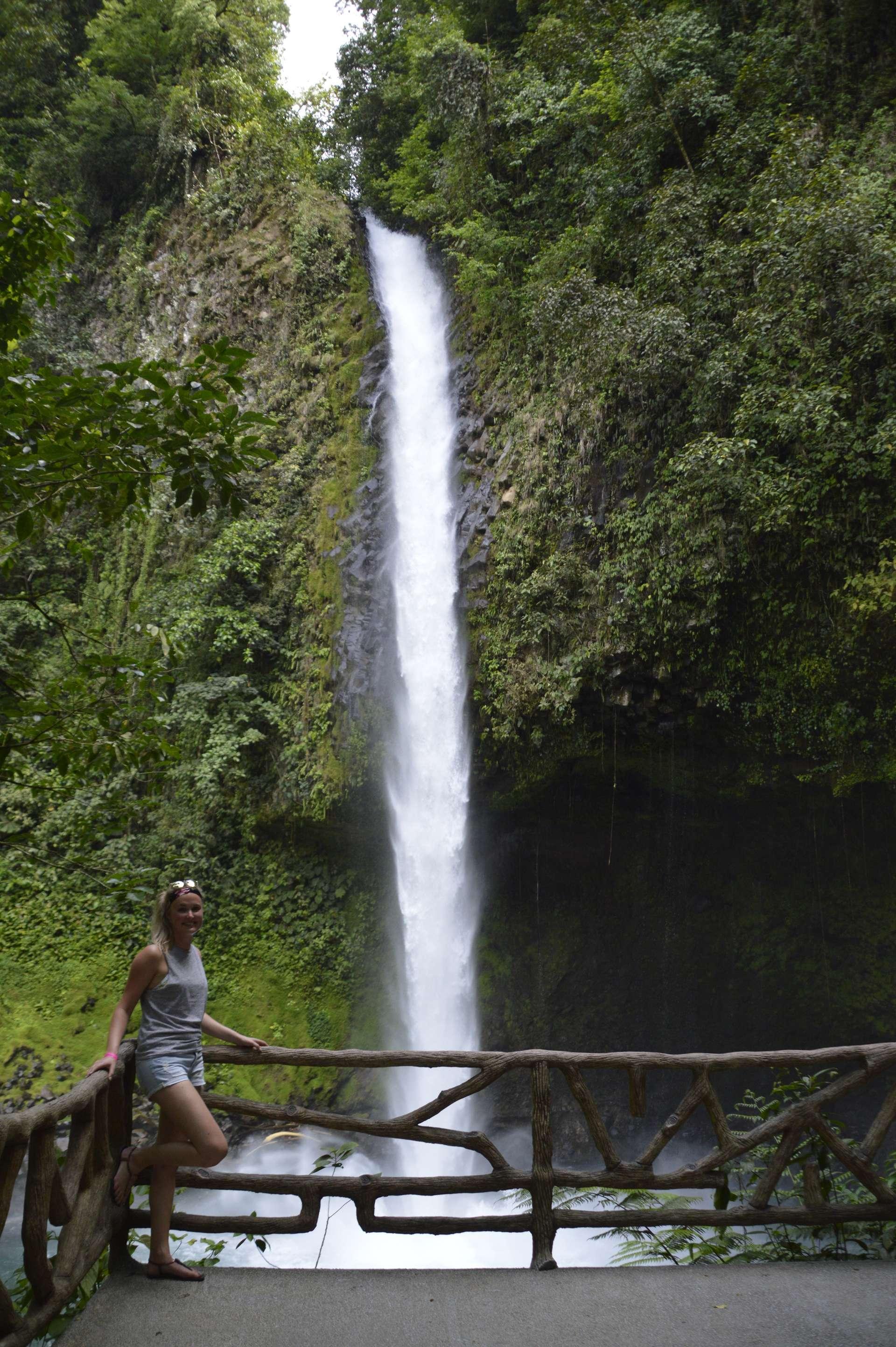 Costa Rica, Le Catarata de La Fortuna