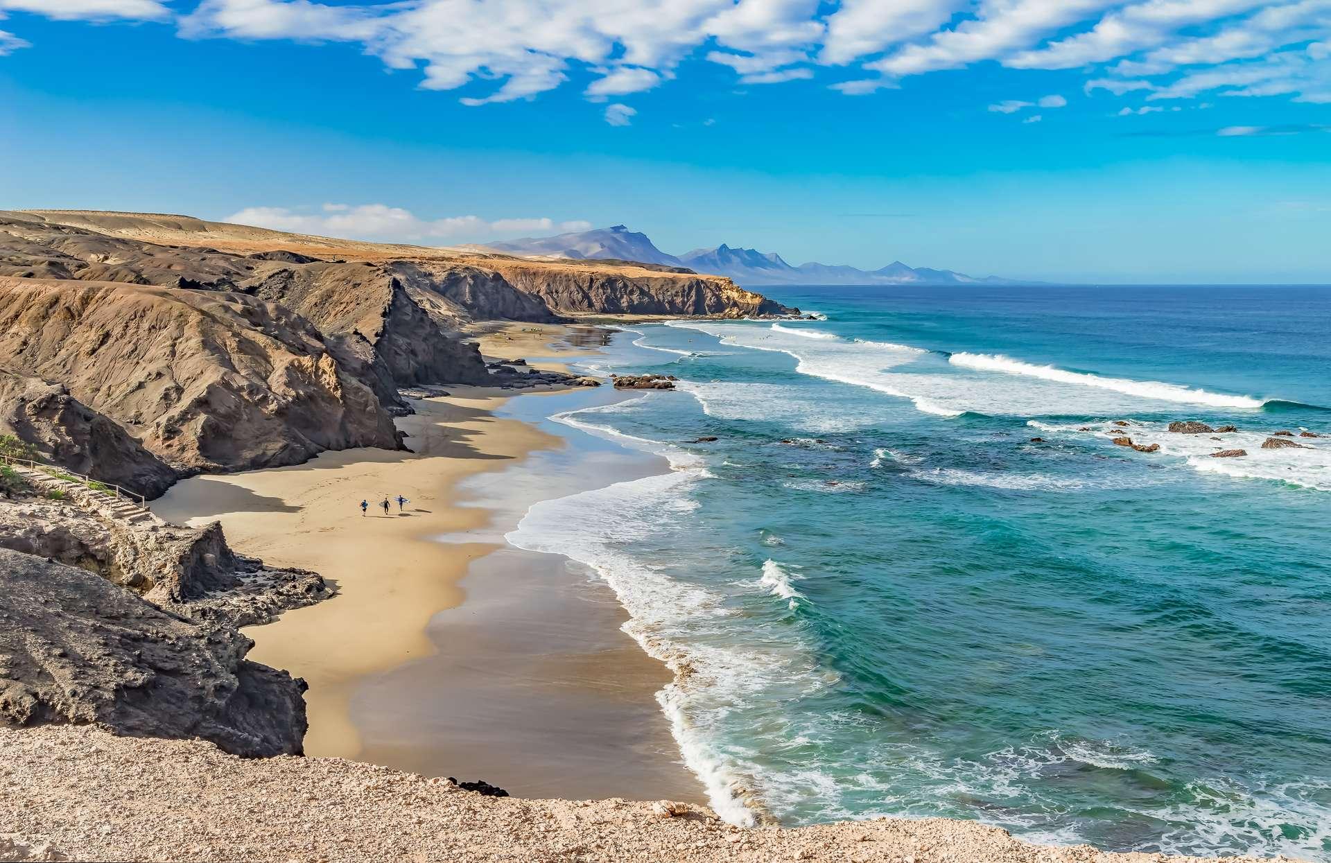 fuerteventura kustlijn