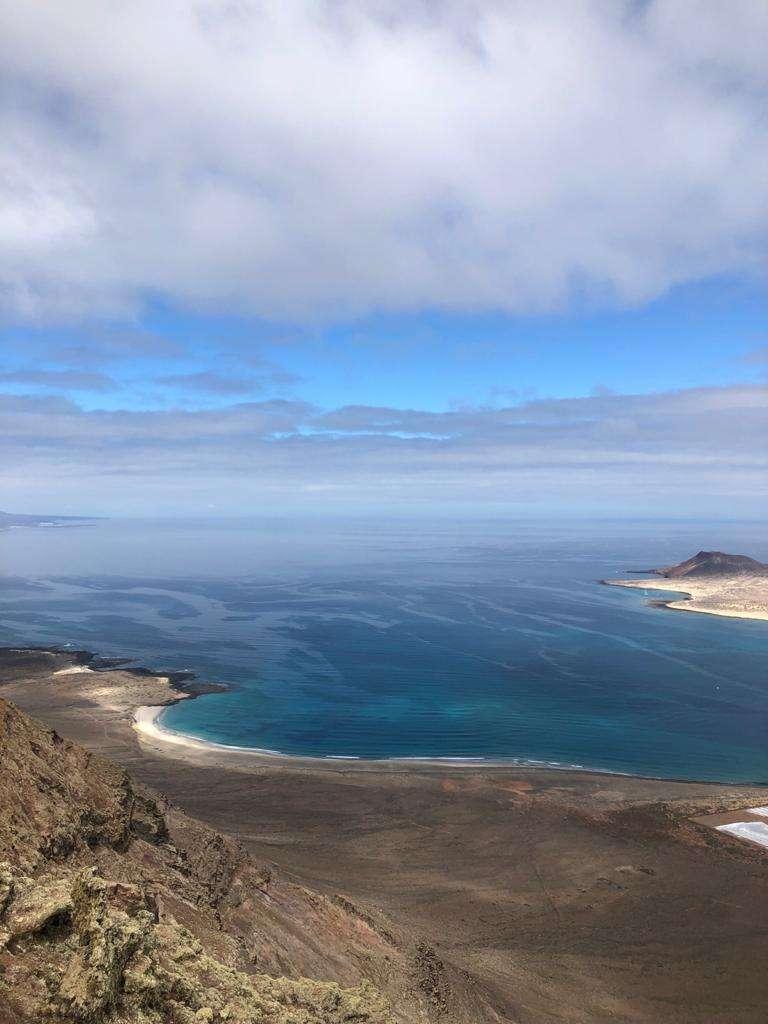 Uitzicht over de Atlantische Oceaan