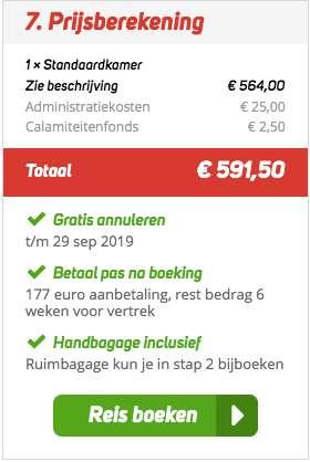 8 dagen Cappadocië voor €282