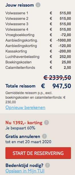 8 dagen Cyprus €230