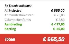 8 dagen Egypte €269
