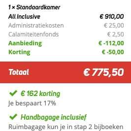 8 dagen Egypte €359