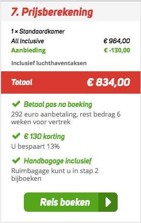 8 dagen Egypte voor €417