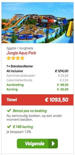 8 dagen Egypte voor €533