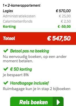 8 dagen Fuerteventura €285