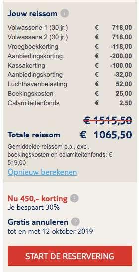 8 dagen Gran Canaria voor €519