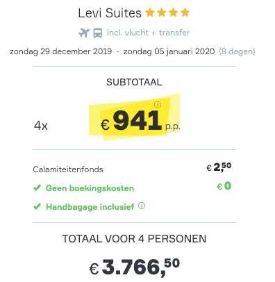8 dagen IJsland €941