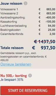 8 dagen Ibiza €455