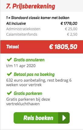 8 dagen Kaapverdië €889