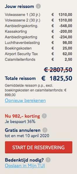 8 dagen Kaapverdië €899