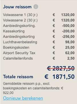 8 dagen Kaapverdië = €922