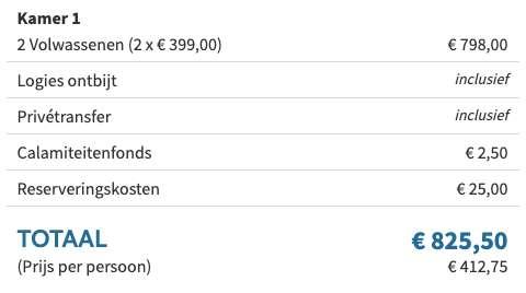 8 dagen Kefalonia €399