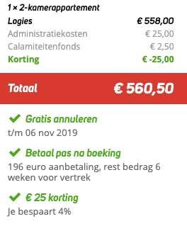 8 dagen Kreta €279