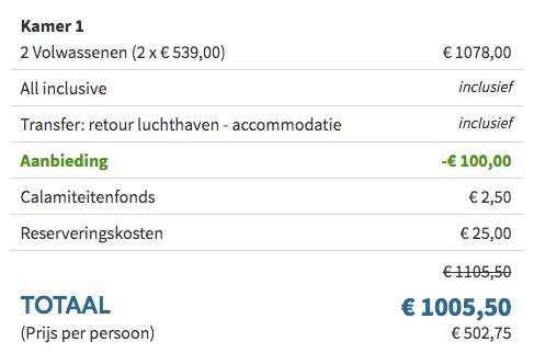 8 dagen Kreta €489