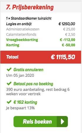 8 dagen Kreta voor €569