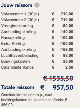 8 dagen Lanzarote voor €475