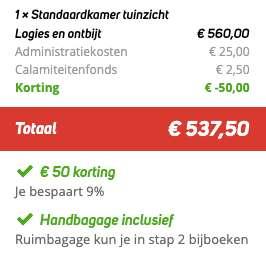 8 dagen Madeira €269