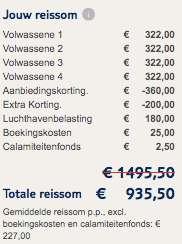 8 dagen Mallorca €227