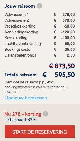 8 dagen Mallorca €284