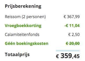 8 dagen Marrakech €180
