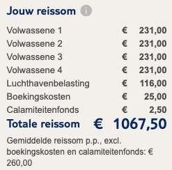 8 dagen naar de Algarve voor €260