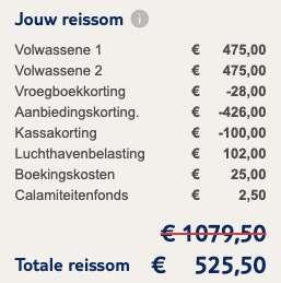 8 dagen naar Turkije voor €249