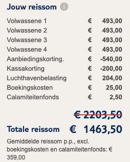 8 dagen naar Turkije voor €359
