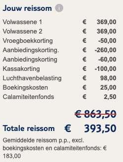8 dagen naar Zakynthos voor €183