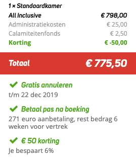 8 dagen Samos €374