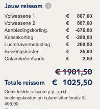 8 dagen Senegal €499