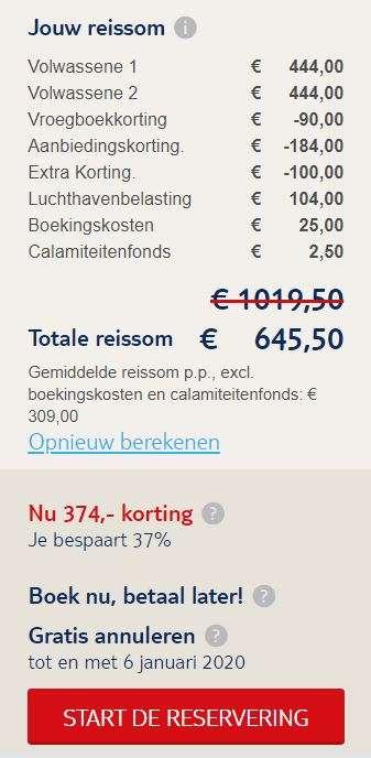 8 dagen Tunesië voor €309