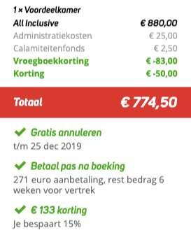 8 dagen Turkije €374
