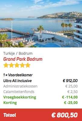 8 dagen Turkije €387