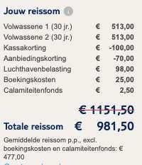 8 dagen Turkije €477
