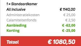 8 dagen Turkije €539