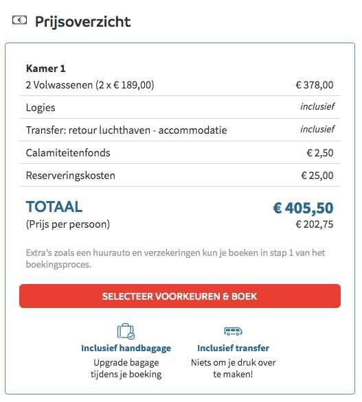 8 dagen Turkije voor €189