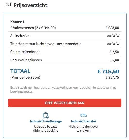 8 dagen Turkije voor €344